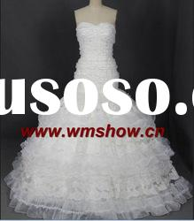 2012 Beautiful Ball Gown Sweetheart Lace Wedding Dress Lace Ribbon Lace
