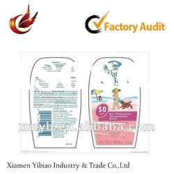 2012 promotional self adhesive pvc label for printing