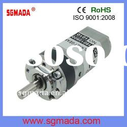 22mm high torque low rpm DC Planetary gear motor