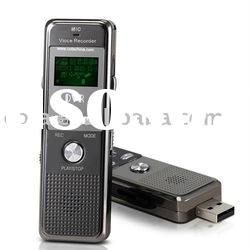 2GB Best Digital Voice Recorder With MP3 Player, FM CT-DVR0166