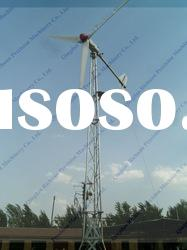 3KW Horizontal Axis permanent Wind Generator set for sale hawt 3kw