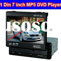 7'' 1 Din In-dash DVD Player with USB and SD Card Reader Slot