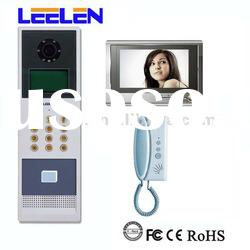 7 inch video door entry for apartments with capacity up to 431 apartments