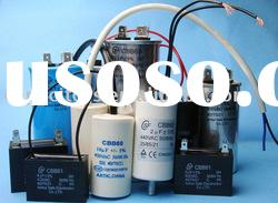AC run motor capacitor for water pump