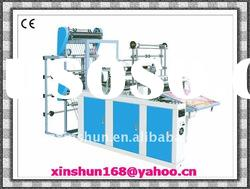 Automatic Heat-sealing and Cold-cutting Plastic Bag-making Machine(with punnching)
