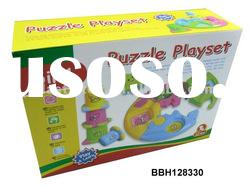 Baby education plastic puzzle playset toy BBH128330