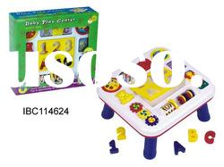 Baby table plastic puzzle toy IBC114624
