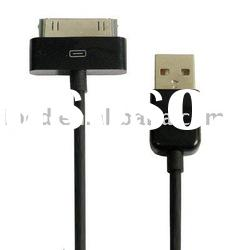 Black USB Cable for iPad, Length: 1M