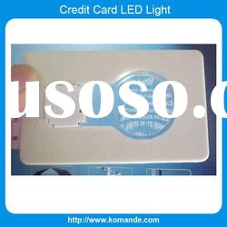 Bulb Card LED Light with logo print
