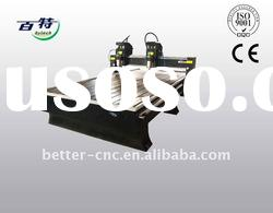 CNC Wood Router Machine Two Spindle 1300*2500*200mm