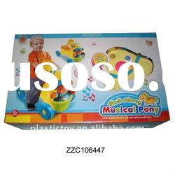 Child ride on plastic horse toy ZZC106447