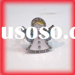 Christmas ring/fashion cubic zircon ring/fashion jewelry/fashion ring/alloy ring