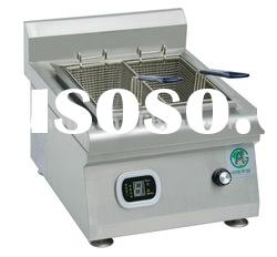 Commercial induction fried chicken deep fryer