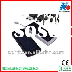 Custom solar baterry charger with LED light for 3G phone KDX-T006
