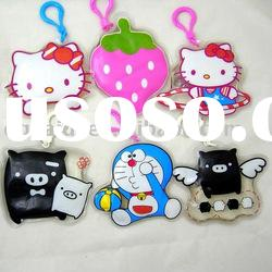Cute Soft PVC Key chain/Plastic Key chains