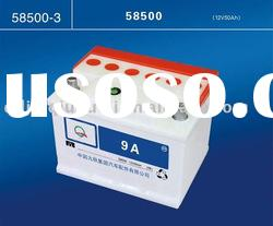 DIN Stand dry charged car battery 12v 88ah (DIN88)