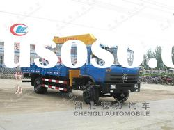 DongFeng 145 truck with loading crane