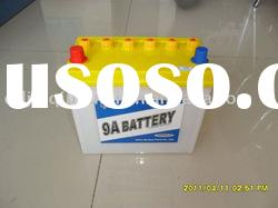 Dry charged car battery 12V 36Ah