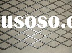 Flat expanded metal wire mesh