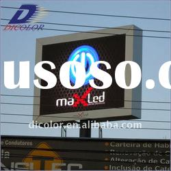Full color outdoor LED display screen for advertising use