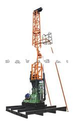 HF-4T spindle type drilling machine, water well drilling machine with tower