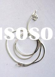 HOT!! 3% OFF!!925 sterling silver necklace chains AAAA,18 string with beautiful jewelry !!