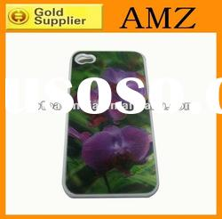 High quality 3D mobile phone case for iphone 4 ,wholesaler