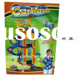 Kid play plastic car park toy IPH129015