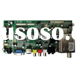 LCD AD Control Board for 15-22 inch TV and Monitor with Dual / Single LVDS LCD Panel
