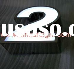 LED acrylic letter sign for indoor or outdoor