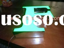 LED acrylic sign with 5V LED beads