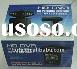 "Night Vision HD Car video recorder with 2.5"" Screen CT1097D"