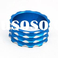 OEM bike parts blue alloy headset spacer