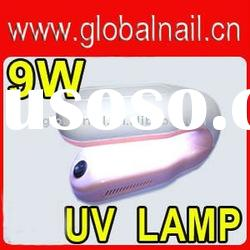 Portable Rotate 9W UV Curing Lamp Light for Acrylic Nail Art Tip UV Gel