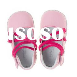 Soft sole baby leather shoes BB-A21017-PK