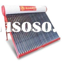 Solar energy collector water heater system