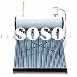 Thermosiphon solar water heater with heat exchanger