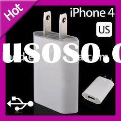 USB Wall Home Charger AC Adapter for Apple iPhone 4 4G