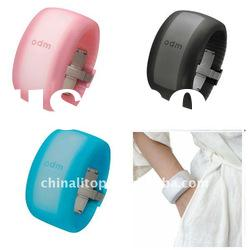 Waterproof LED odm watch silicone jelly digital wrist watches lady bracelets band new