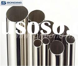 Welded stainless steel round pipe