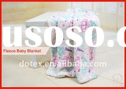 anti-pilling polar fleece and sherpa blanket baby