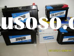 dry charged auto starter batteries N100L