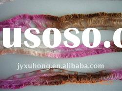 dyed polyester fancy track microfiber for knitting and weaving