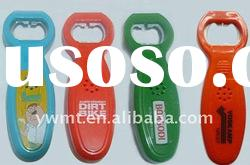 fashion plastic bottle opener with music
