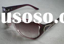 fashion purple cheap name brand sunglasses