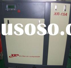 stationary screw air compressor,XR15A,oil lubricated rotary type