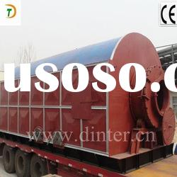 used tyre/rubber pyrolysis equipment to get oil