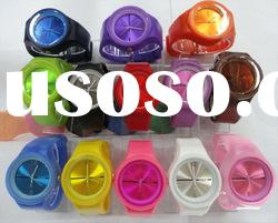 waterproof silicone bracelet watch