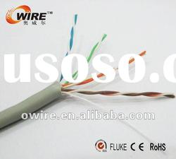 0.45~0.48mm cca utp 5e cable cat5e cable