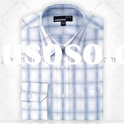 100% cotton long sleeve casual shirt for men
